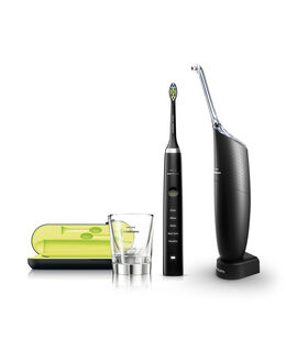 Sonicare Diamond Clean Black & Airfloss Ultra Black Bundle Pack HX8491/03