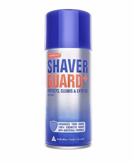 Shaver Guard - Sanitise and lubricate your Shaver