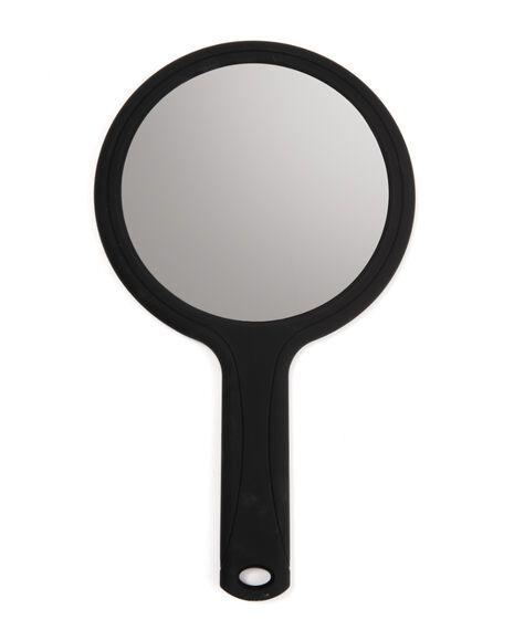 Handheld Round Mirror
