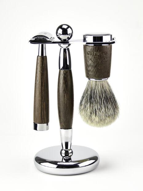 3 Piece Wenge Wood Shave Set