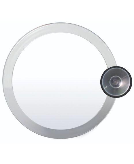 Silver Oval Mirror