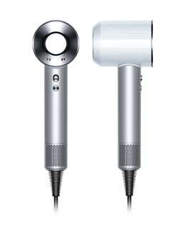 Supersonic Hair Dryer - Silver and White
