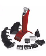 Stainless Steel Lithium ion Trimmer - Red