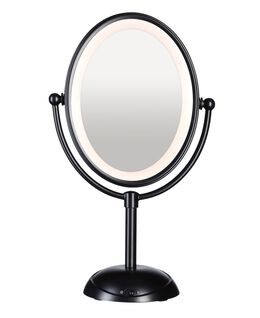 LED Lighted Mirror - Matt Black