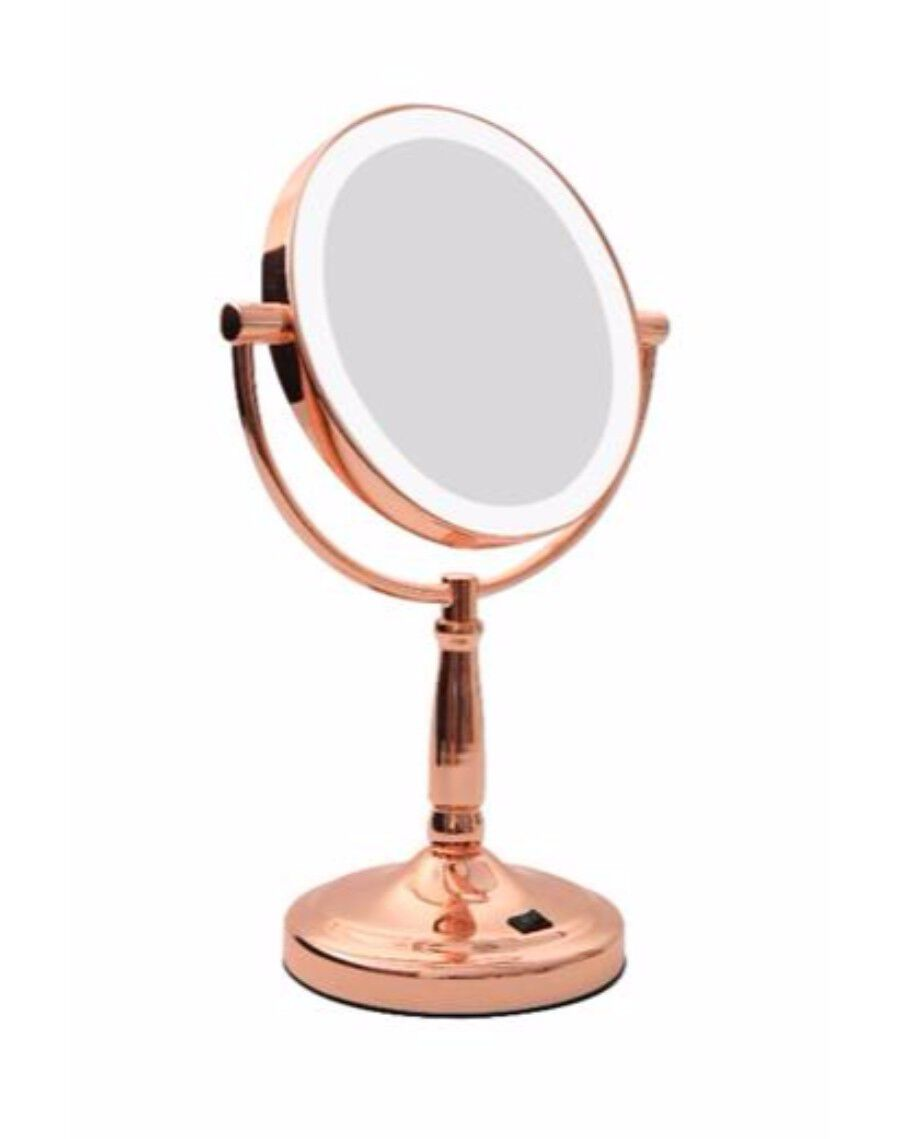 Rose Gold Beauty Mirror 862c73d5a9