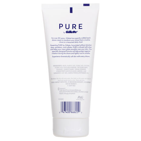 Pure Soothing Shave Cream 177ml