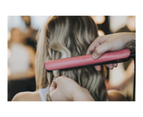 limited edition gold® hair straightener in rose pink