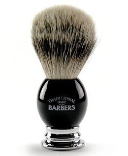 Premium Silver Tip Shaving Brush