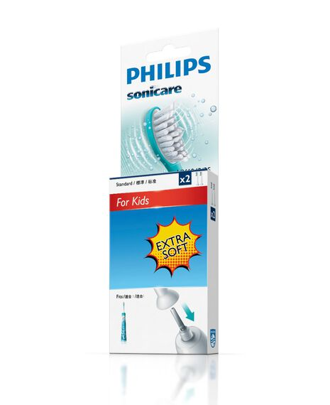 Kids Small Toothbrush Heads - 2 Pack