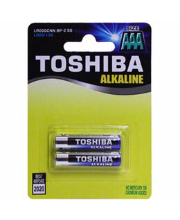 Toshiba AAA Batteries 2 Pack