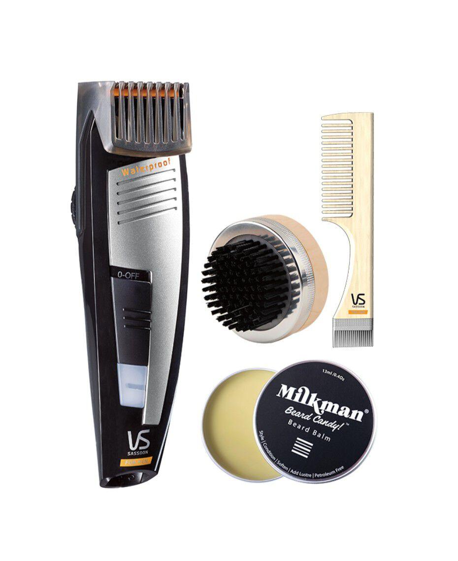 vs sassoon the bearded pro trimmer gift pack shaver shop. Black Bedroom Furniture Sets. Home Design Ideas