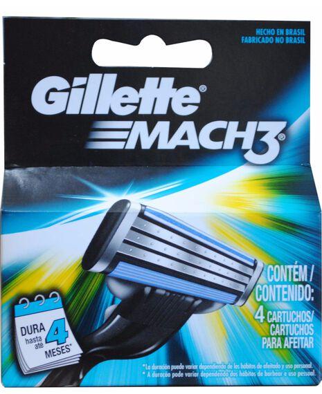 Mach 3 Blades Refill 4 Pack