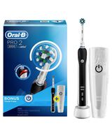Pro 2 Cross Action Electric Toothbrush - Black
