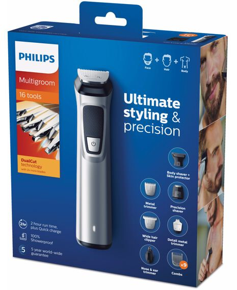 Philips Multigroom Series 7000 16 in 1 Face, Hair and Body
