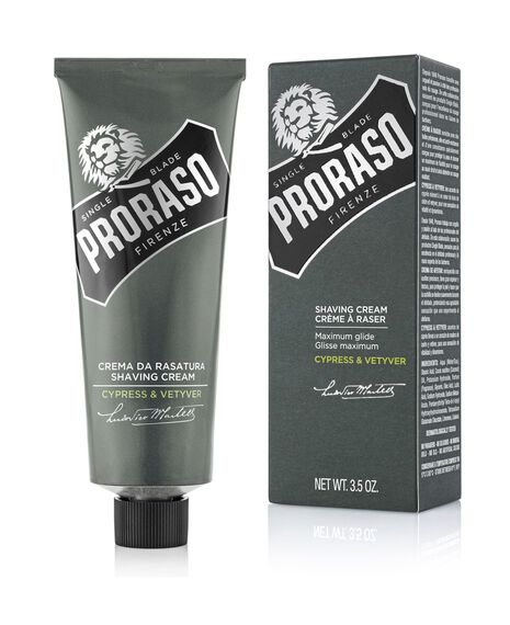 Shave Cream Tube with Cypress Vetyver - 100mL