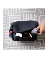 The Koby   Toiletry Bag - Charcoal