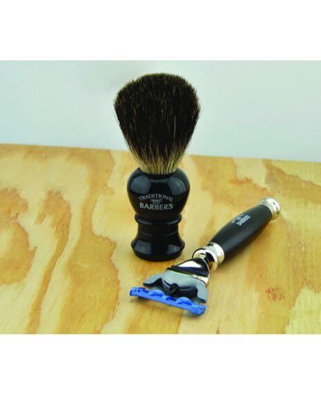 Razor & Badger brush Gift set