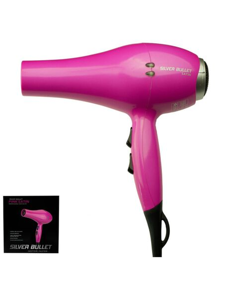 Satin Hair Dryer 2000W - Pink