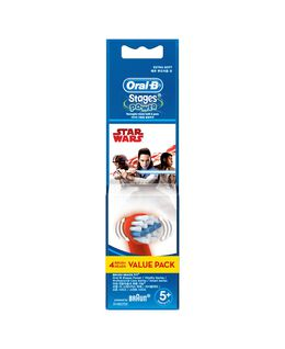 Kids Brushhead Refill 4pk - Starwars