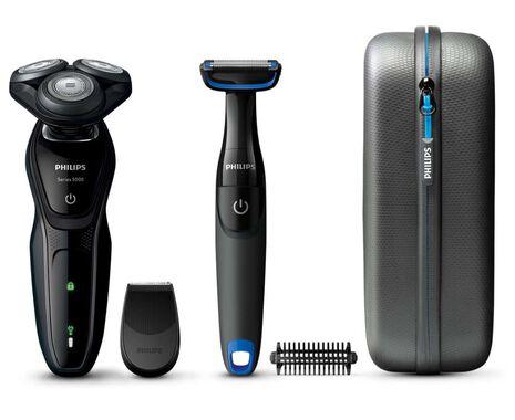 Series 5000 Shaver with Bonus Bodygroomer