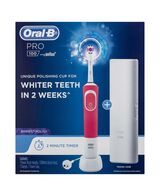 Pro100 3D White Electric Toothbrush - Pink